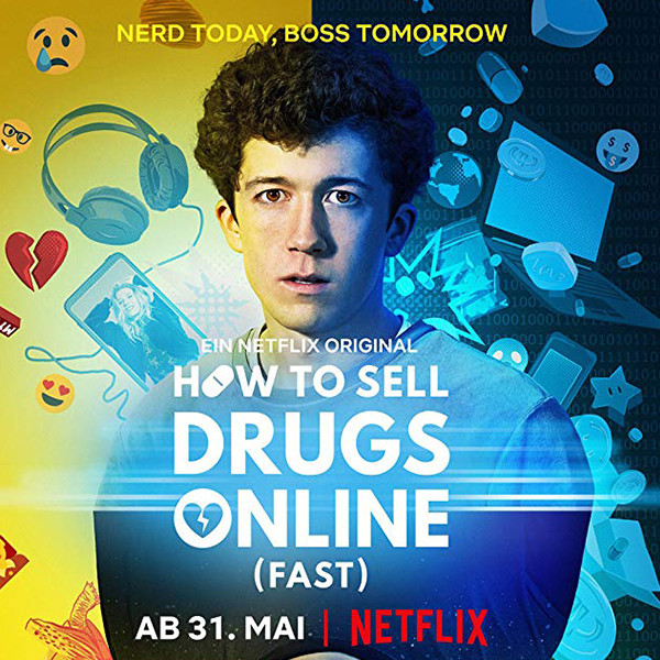 How to Sell Drugs Online (Fast) - Spin-Off rund um Buba in Arbeit