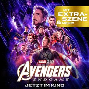 Avengers: Endgame - Erweiterte Fassung ab Donnerstag in den deutschen Kinos