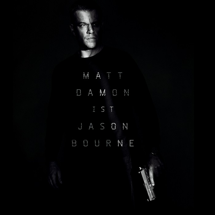 Jason Bourne - Matt Damon ist zurück, erster Trailer/Spot online