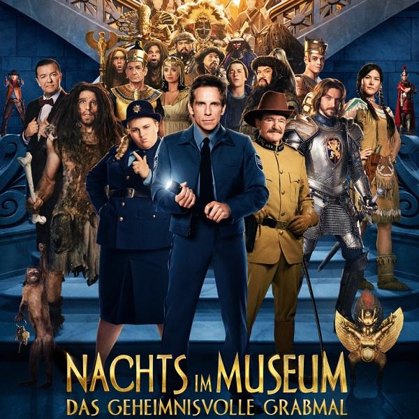 Nachts im Museum: Das gehemnisvolle Grabmal - Unsere Kritik zur Komödie mit Stiller und Williams