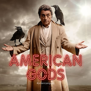 American Gods - Bestseller-Autor Neil Gaimans Position bei der Serie *Update*