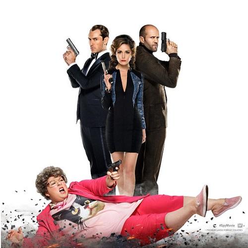 Spy - Deutscher Trailer zur Action-Komödie mit Melissa McCarthy, Jude Law und Jason Statham