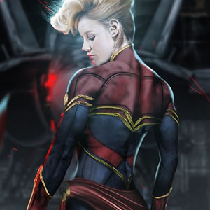 Captain Marvel - Easter Egg in The First Avenger: Civil War?