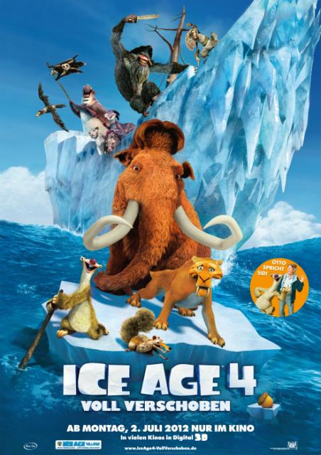 Ice Age 4 - Twilight-Sprechertrio mit an Bord